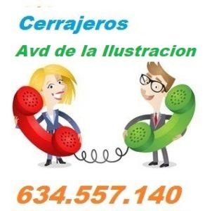 Telefono de la empresa cerrajeros Avenida de la Ilustracion